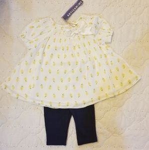 Baby girls summer outfit